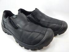 Keen Piedmont Size US 10 M (D) EU 43 Men's Casual Slip On Shoes Black Leather
