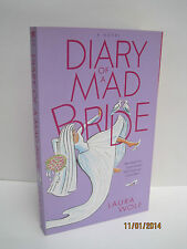 Diary of a Mad Bride & Diary of a Mad Mom-To-Be by Laura Wolf, Lot of 2 Books