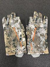 Sitka Gear Fanatic Glove - Optifade Elevated II - Large