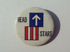 Head Start Button Vintage Logo