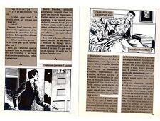 ASSASSIN lot de 17 planches de montage originales AREDIT