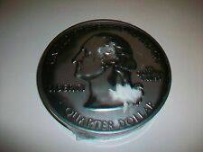 New Hallmark 2000 Quarter Collecting Tin Container w/ Mounting Boards