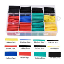 530x Heat Shrink Tubing Tube Assortment Wire Cable Insulation Sleeving Wrap Kit