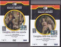 2 Dvd Sceneggiati Rai «L'ENIGMA DELLE DUE SORELLE» di M. Foglietti completa 1980