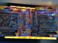 Pokemon Tapu Pin  Collection Evolutions XY Crimson Invasion Booster Neu OVP