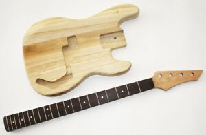 Body und Neck, Gitarrenkörper Gitarrenhals für E-Bass PB4