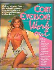 Cory Everson's Workout by Corinna Everson and Jeff Everson 1991 Softcover Book