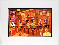 "New Disney Trader Sams SHAG ""In The Enchanted Tiki Bar"" 18 x 14 Fine Art Print"