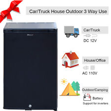 Smad 1.7 cu ft RV Camper Fridge Truck Absorption Refrigerator 110V/DC12V Cooler