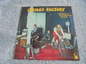 Creedence Clearwater Revival - Cosmo's Factory 1970 UK LP LIBERTY 1st