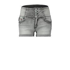CoolCat Denim Shorts Size UK 4 Grey DH077 GG 05