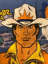 Bravestarr Vintage Pillowcase Bedding 1986 Mattel TV Filmation Cartoon Material