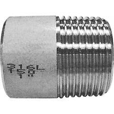 "3/8"" bsp soudure mamelon acier inoxydable 316 150LB tuyau raccord"