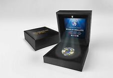 Western Bulldogs OFFICIAL Replica Brownlow Medallion in LED Black Box - OFFICIAL
