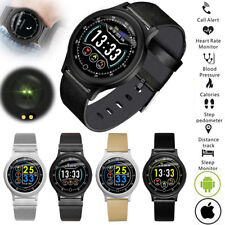 Women Men Sport Bluetooth Smart Watch Heart Rate Sleeping Monitor Steps Counter