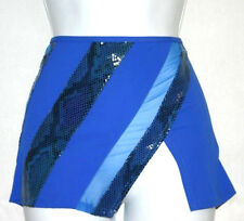 Gottex Swimsuit Coverup Cover-up Skirt Royal Blue sz L New