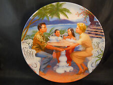 """1987 Knowles """"Dites-Moi"""" South Pacific Collectible Plate # 1515 B"""
