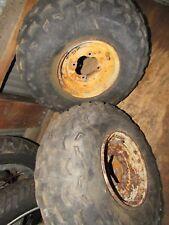 1992 suzuki lt160 front wheel rim rims