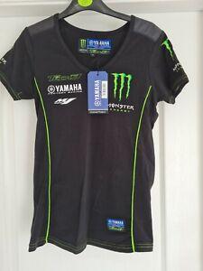 T-Shirt Yamaha Tech3 Factory Racing Monster Energy MotoGP Bike NEW! Black Size S