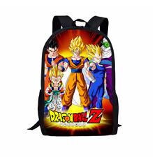 Anime Dragon Ball Backpack Boys Girls School Bags Super Saiyan Sun Goku Backpack