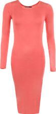 Vestiti da donna rosa a lunghezza lunghezza al polpaccio taglia 42