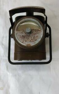 Vintage H. Miller No1 Electric Lamp WW2 Blackout Flashlight Bicycle/belt Light