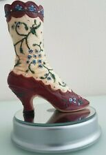 """Just The Right Shoe 1999 Qvc Raine Willitts """"Opera Boot"""" #25005 Collectable"""
