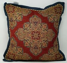 "Croscill Sebastian 18"" Square Decorative Bed Throw Pillow - Multicolor"