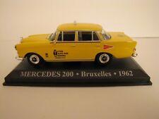 MERCEDES 200  TAXI BRUXELLES 1962