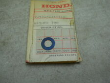 Honda NOS CB450, CL450, 1966-69, Thrust Washer (7mm), # 90451-216-810,  S-167/2