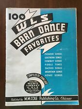 100 W L S Barn Dance Favorites  Piano, Vocal, Guitar Chords And Diagrams