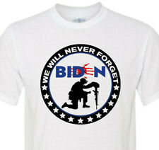 4XL 5XL & 6XL Available - We Will Never Forget - Biden Bloody Palm Print!