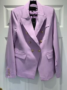 Women's Blazer Fitted Jacket Lilac 12