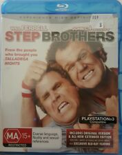 *New & Sealed* Step Brothers (Blu-ray 2009) Will Smith Comedy Movie Region B AUS
