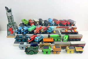 Lot of 30+ - Thomas the Train & Friends Wood - Wooden Train Cars & Tenders
