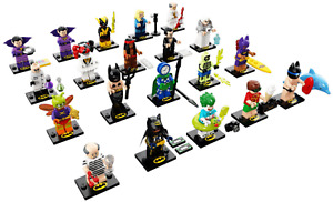 Lego New Batman Series 2 Collectible Minifigures 71020 Figs DC Comics You Pick!