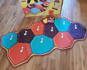 B. mat-a-matics toys interactive dance mat with music electronic mat