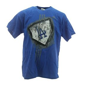 Los Angeles Dodgers Official MLB Adidas Kids Youth Size Distressed T-Shirt New