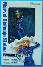 "MARVEL Comics_KOTOBUKIYA Collection__INVISIBLE WOMAN Bishoujo 9 "" PVC Statue_MIB"