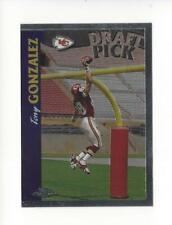 1997 Topps Chrome #24 Tony Gonzalez RC Rookie Chiefs Falcons