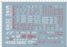 Gundam decals PG Wing Zero EW xxxg-00w0 61544