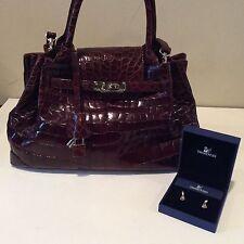 GENUINE Crocodile Skin Hand/ Shoulder Bag+ A Free Gift