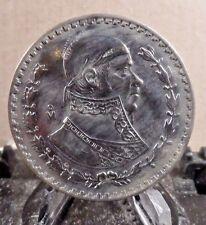 CIRCULATED 1962 UN PESO MEXICAN COIN (20917)1