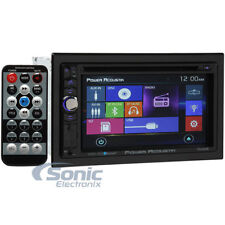 Power Acoustik PD-624B Double-DIN Bluetooth DVD/CD/MP3/AM/FM In Dash Car Stereo