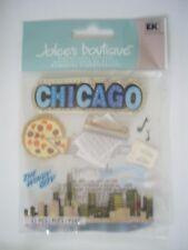 JOLEES BOUTIQUE CHICAGO TRAVEL SCRAPBOOKING STICKERS