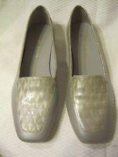 Antonio Melani leather flats 7 1/2 M gray