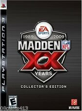 Madden NFL 09 -- 20th Anniversary Collector's Edition (PlayStation PS3) **READ**