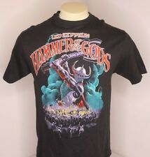NWOT VTG 1988 Led Zeppelin Hammer of the Gods Rock Band Tour T-Shirt Sz L