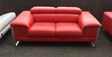 Footstool Living Room Leather Contemporary Furniture Suites