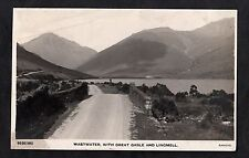 Posted C1920s View of Great Gable, Lingmell & West Water, Lake District